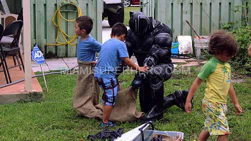 black panther for kid party