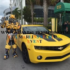 rent a character bumble bee