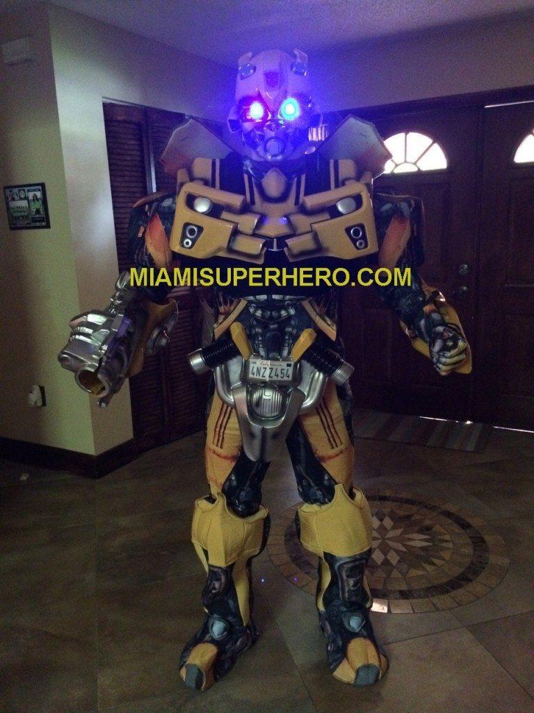 Bumble Bee Transformer Party Miami Superhero