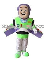 buzz light year mascot party characters