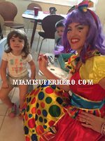 clown character parties
