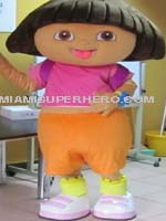 hire-dora-characters-party