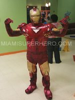 ironman character party