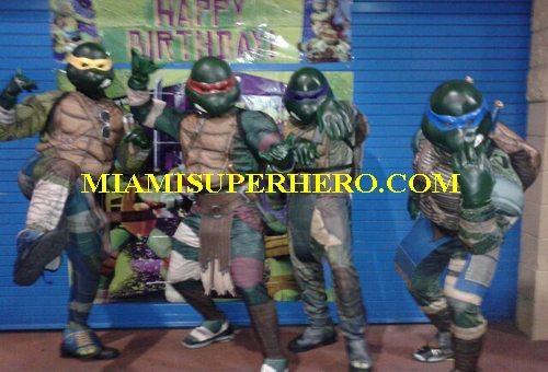 ninja turtle chracters