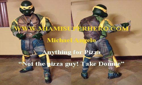 ninja turtle for hire