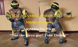 michael angelo ninja turtle