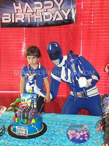 Power Ranger Character For Kids Birthdays Miami Superhero