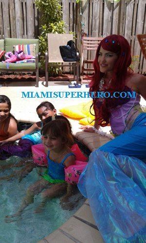 princess ariel for kids party