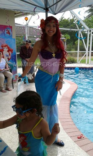 princess ariel birthday party