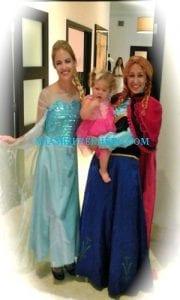 princess elsa And Anna party