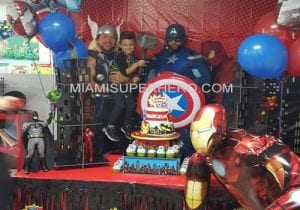 Thor party characters