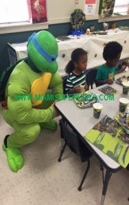Turtle Character Party