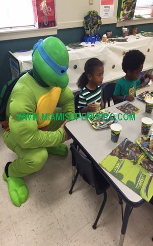 ninja turtle character party