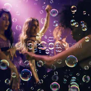 bubble party rental