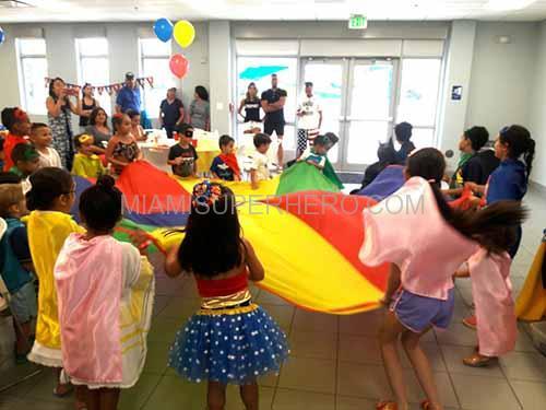 superhero kids party games
