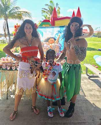 Princess Moana Party For Kids Miami Superhero