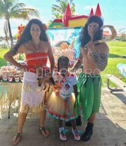 princess moana birthday party
