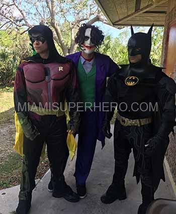robin superhero party