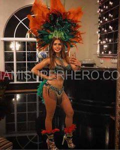 samba dancer miami