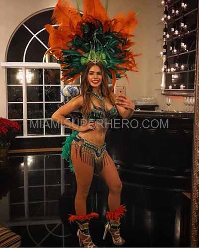 samba dancer miami