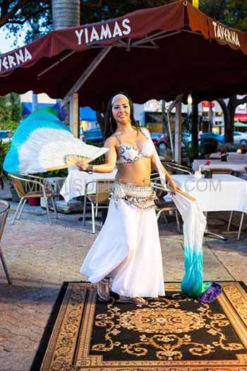 belly dancer in miami