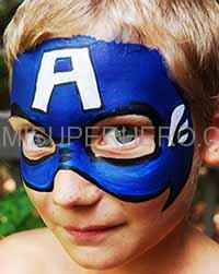 captain america superhero party