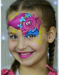 trolls face painter