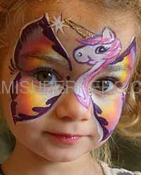 Little pony face painter