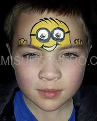 minion face painter