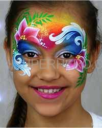moana face painting