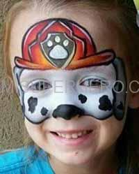 davie face painter