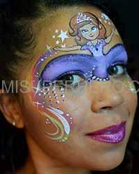 princess face painter