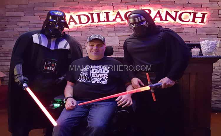 darth vader kids miami party