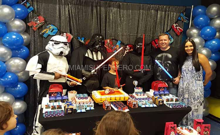 kylo ren kids birthday party