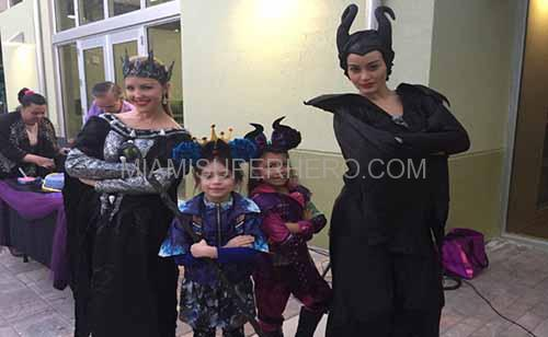 Maleficent party rental