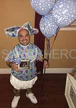 gender reveal midget rental