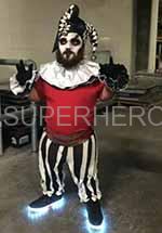 scary clown midget for rental
