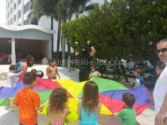 Ninja kids party Miami Fort Lauderdale