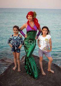 princess ariel kids parties