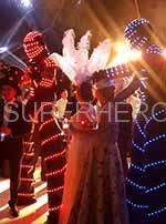stilt walker lights