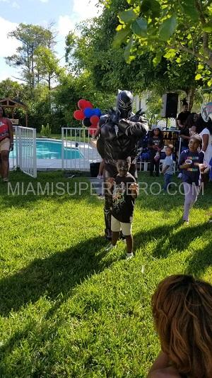 Black panther Kids Party image