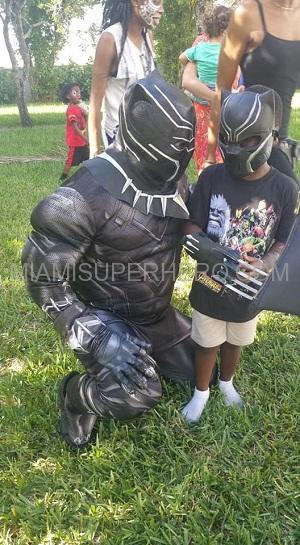 Black panther Kids Party