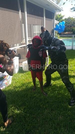 Black panther Kids play