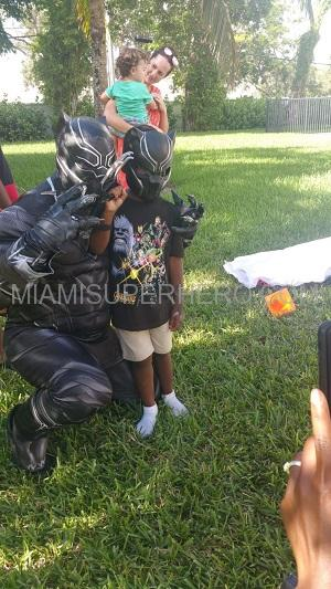 Black panther Kids Party hire