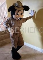 Mickey Safari character for rent