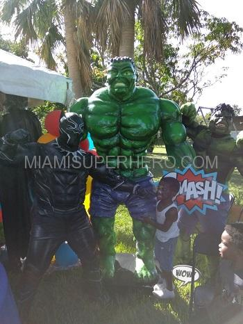hulk and black panther