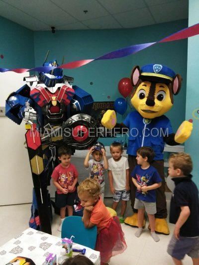 paw patrol chase kids party