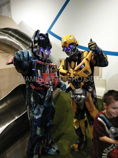 transformers kids party character