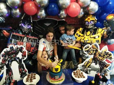 transformers kids party character image