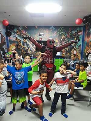deadpool superhero party